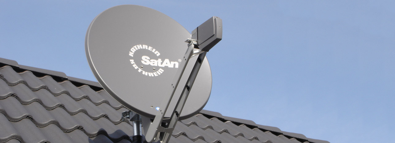 Satellitenempfangsanlagen von t x for Planung einrichtung